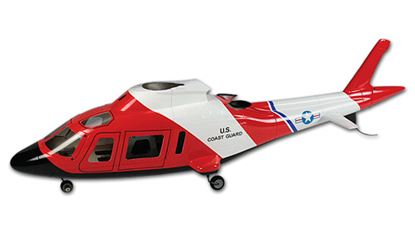 Picture of HF4502 AGUSTA A-109 450 Scale Fuselage