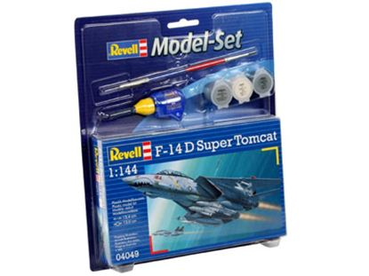 Picture of Revell RV64049 1/144 MODEL SET F-14D SUPER TOMCAT