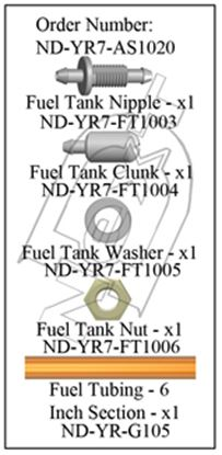 Picture of CYB ND-YR7-AS1020 Fuel Tank Accessory Set R7