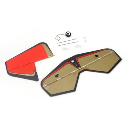 Picture of E-Flite EFLU4060 Tail surface set: UMX Beast