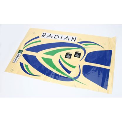 Picture of ParkZone PKZ4703 Decal Sheet: Radian