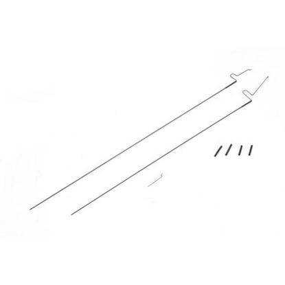 Picture of ParkZone PKZU1025 Elevator and Rudder Pushrod Set: SU26xp