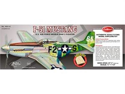 Picture of Guillows 402 Balsa WWII P-51 Mustang (Multi-Purpose Model)