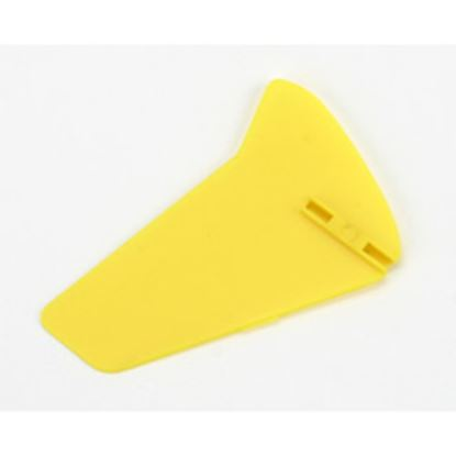 Picture of E-Flite EFLH2228Y MCX Vertical Fin, Yellow without Decals