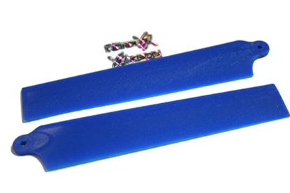 Picture of KBDD 5004 Extreme Edition Blades for Blade mCPX - PEARL BLUE