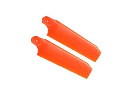 Picture of KBDD 4079 104mm Tail Blades - Extreme Edition - Neon Orange