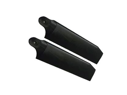 Picture of KBDD 4081 104mm Tail Blades - Extreme Edition - Midnight Black
