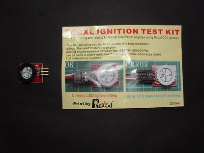 Picture of Rcexl GE3002 Ignition test kit for gas engines