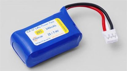 Picture of Hyperion 2S 240mAh 25C HIGH POWER Battery for E-Flite UMX