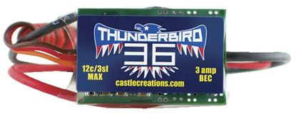 Picture of Castle Creations 010-0051-00 Thunderbird 36A ESC