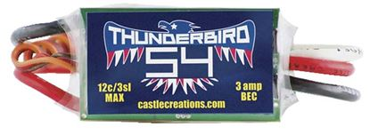 Picture of Castle Creations 010-0053-00 Thunderbird 54A ESC