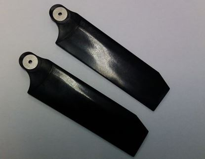 Picture of KBDD 4087 112mm Tail Blades - Extreme Edition - Midnight Black