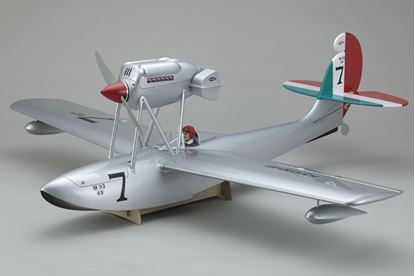 Picture of Kyosho 10079 MACCHI M33 EP ARF (Silver)