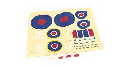 Picture of ParkZone PKZ5702 Decal Sheet: Spitfire MkIX