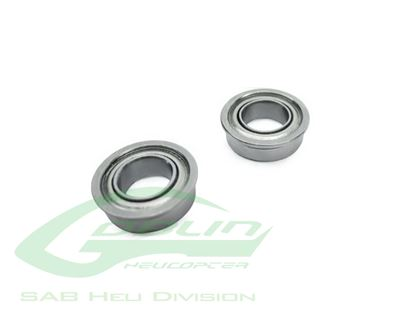 Picture of SAB HC416-S ABEC-5 Flanged bearing 7x11x3 (2pcs) Goblin 500