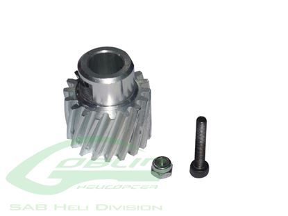 Picture of SAB H0210-S Aluminum Pinion Z18 - Goblin 500
