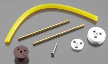 Picture of Du-Bro 3362 2-24 oz Replacement Fuel Tank Cap & Fittings (Gas)