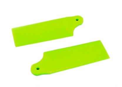 Picture of KBDD 5252 Extreme Edition 130X Tail Blades - Neon Lime