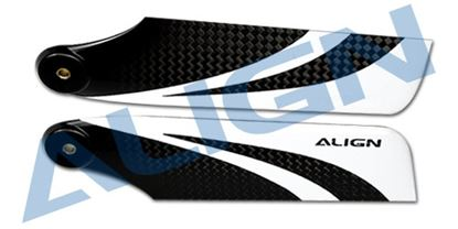 Picture of HQ1150B 115mm Carbon Fiber Tail Blade (800)