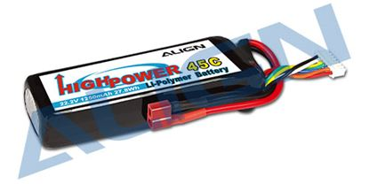 Picture of HBP12501 6S1P 22.2V 1250mAh/45C