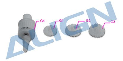 Picture of HSP15001 DS150/155 Servo Gear Set