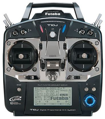 Picture of Futaba 10J 10Ch 2.4GHz FHSS Transmitter MODE 2 HELI