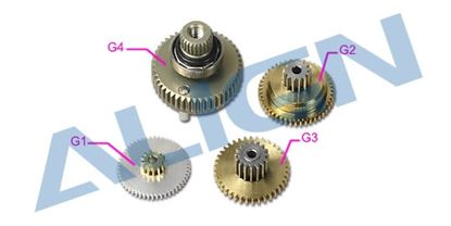 Picture of HSP75001 BL750H Servo Gear Set
