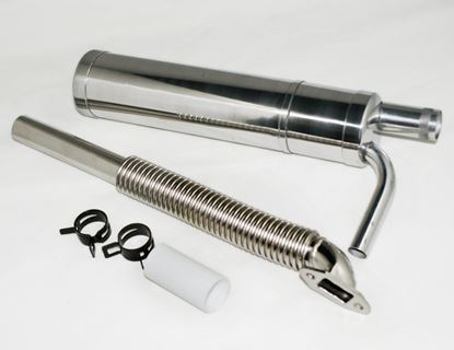 Picture of 023231M-N Canister Muffler Sets for DA50, DLE55 40-60cc Engines