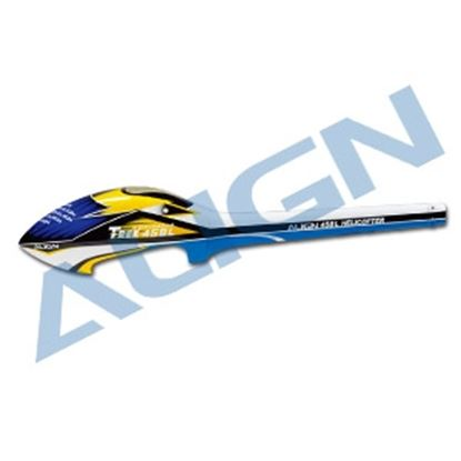 Picture of HF4509 450L Speed Fuselage White & Blue