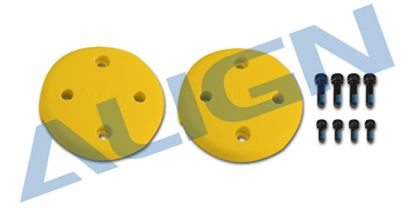 Picture of M480017XEW Multicopter Main Rotor Cover- Yellow