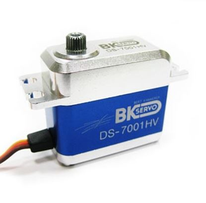 Picture of BK Servo DS-7001HV High voltage, full size, coreless cyclic serv