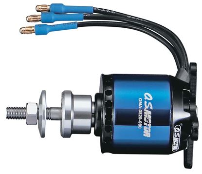 Picture of O.S. OSMG9526 .25 Brushless Outrunner Motor 3820-960