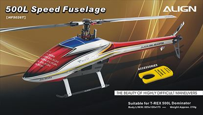 Picture of HF5026 500L Speed Fuselage – Red