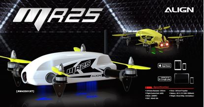 Picture of ALIGN RM42507XT MR25 FPV Yellow Racing Quad