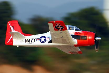 Picture of FMS 1.4M T-28 Trojan Brushless Warbird V2 PNP