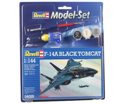Picture of Revell 04029 1:144 F-14A Black Tomcat