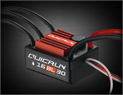 Picture of Hobbywing 30110000 QUICRUN-WP-16BL30 30amp Car ESC