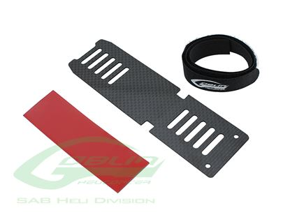 Picture of SAB H0536-S - Carbon Fiber Battery Tray - Goblin 380