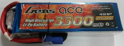Picture of Gens Ace GA3300-4S40 3300mAh 4S 14.8V 40C W/EC5
