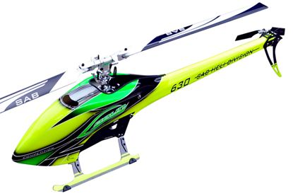 Picture of SAB Goblin SG632 630 Competition YELLOW/GREEN