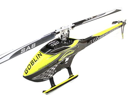 Picture of SAB Goblin SG707 700 COMPETITION YELLOW/CARBON