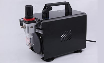 Picture of AC-150 MINI COMPRESSOR W/PRO SUCTION FEED AIRBRUSH