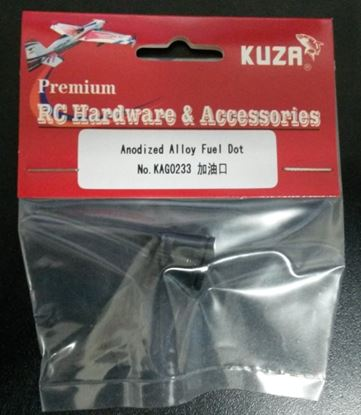 Picture of KUZA KAG0233B Anodized Alloy Fuel Dot (Black)