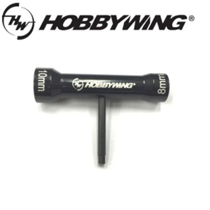 Picture of Hobbywing Multi-Purpose T-Socket Wrench (8mm/10mm)