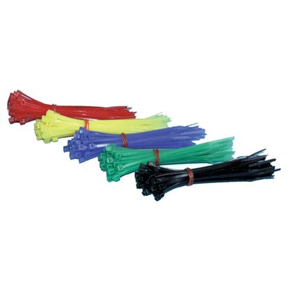 Picture of 100mm Coloured Cable Ties HP1196 - Pk.125
