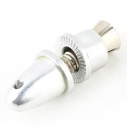 Picture of 4.0mm Aluminum Bullet Propeller Adaptor (Silver Color) PA400-S