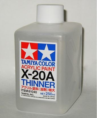 Picture of Tamiya 81040 Acryl/Poly Thinner X-20A 250ml