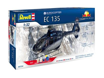 Picture of REVELL RV05724 Eurocopter EC135 Flying Bulls  gift set