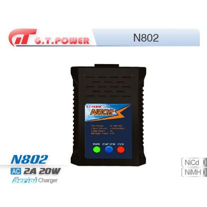 Picture of GT Power N802 AC 240V/2A, 20W, 4-8S Nimh/Nicd