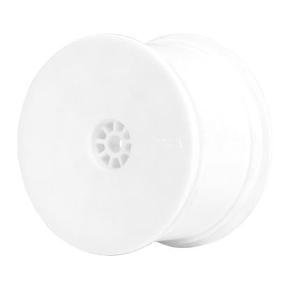 Picture of AKA 23101W HEXLITE 1:10 BUGGY REAR RIM WHITE